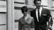 Verboten schön: Zusammen sicherten Audrey Hepburn und Hubert de Givenchy Ende der fünfziger Jahre den Erfolg von L'Interdit.