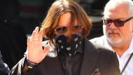À la Jack Sparrow: Johnny Depp im Sommer in London