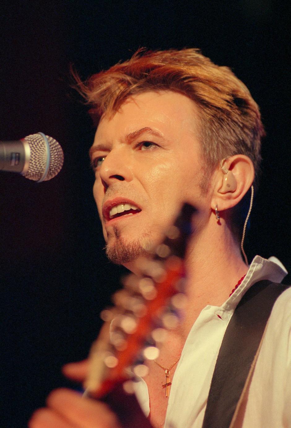 Rot bis blond: Mit David Bowie arbeitete Josh Wood in den Neunzigern zusammen.