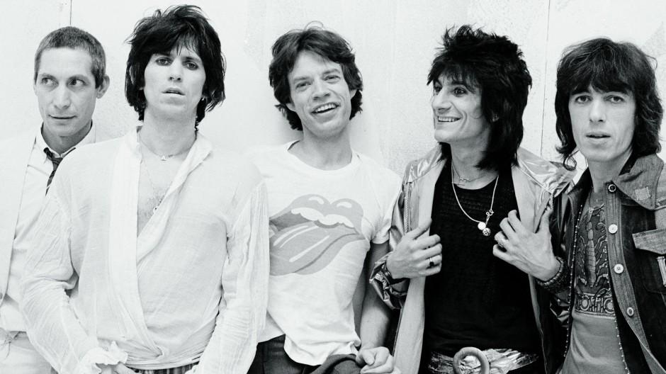 Eine Band, fünf Charaktere: Charlie Watts, Keith Richards, Mick Jagger, Ronnie Wood, Bill Wyman (von links nach rechts), hier im Mai 1978 in New York