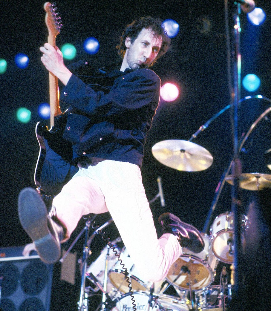 Pete Townshend, Gittarist von The Who, 1981 in Dr. Martens.
