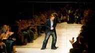"""""""Tempo ist alles, Tempo bestimmt. wie wir arbeiten, denken und leben"""": Christopher Bailey, auf diesem Foto zu sehen im Jahr 2005."""