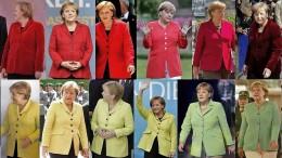 Wofür stehen Angela Merkels Blazer?