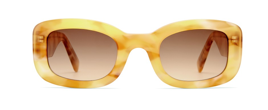 Das neue Schwarz ist hellbraun: Brille von Viu