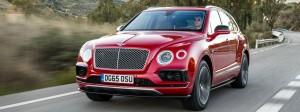 Bentley Bentayga: Den Modellnamen haben sich die Briten von den Kanarischen Inseln geholt. Dort trägt ein markanter Fels diesen Namen