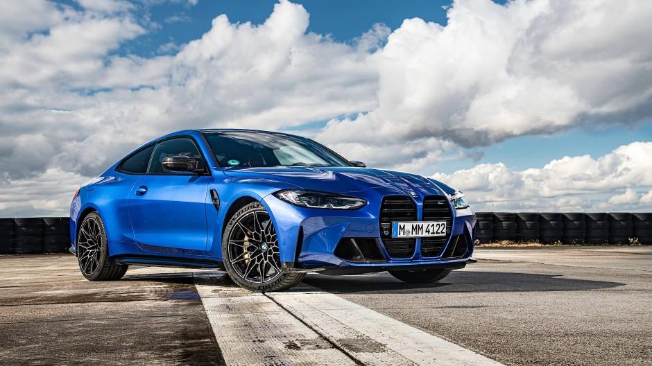 Vom Fotograf dramatisch in Szene gesetzt: BMW M3