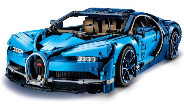 Hier klotzt Bugatti