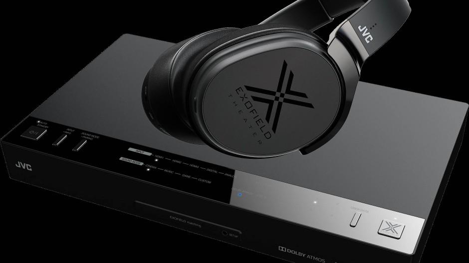Der Kopfhörer XP-EXT 1 von JVC kostet samt seiner Steuereinheit rund 1000 Euro.