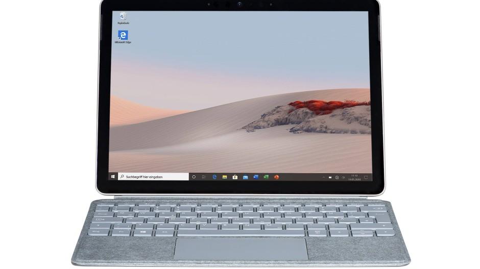 Das Surface Go 2 ist eines der kleinsten Windows-Notebooks eines Markenherstellers.