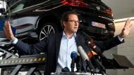 Zankt mit Umweltministerin Svenja Schulze: Verkehrsminister Andreas Scheuer