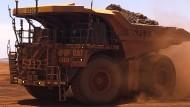 250 Tonnen Erz kann der größte Lastwagen transportieren.