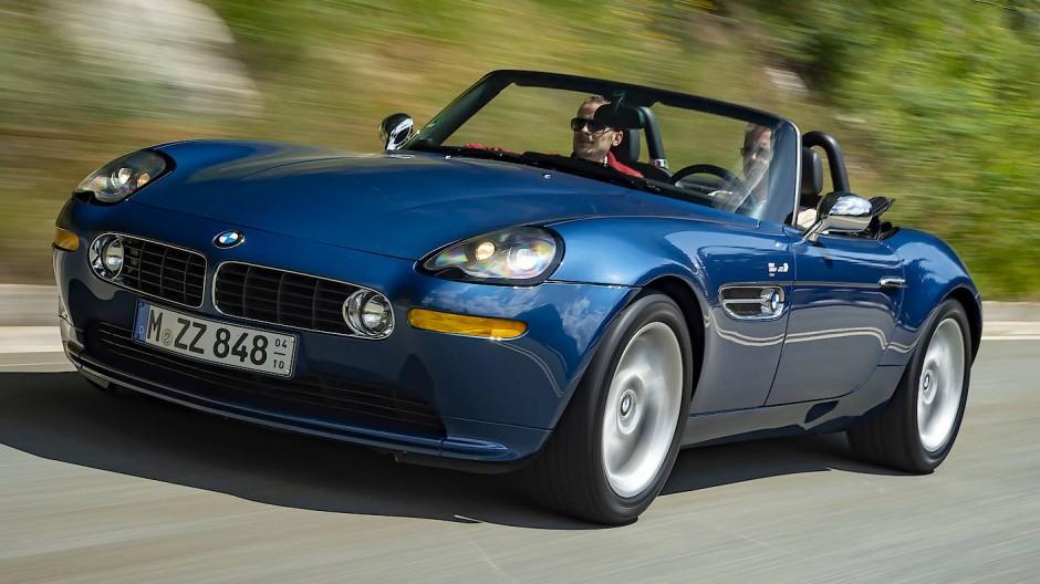 Ziemlich unwiderstehlicher Gleiter: BMW Z8