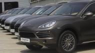 Betroffen sind Porsche Cayenne mit 3-Liter-Diesel-Motor