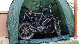 Das Zelt kann eine Dauerlösung sein