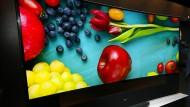 Ultra-HDTV hält weniger als das Logo verspricht