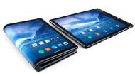 Tablet oder Smartphone: Ein Knick macht beim Flexpai von Royole den Unterschied.