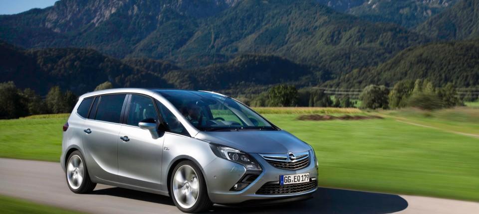 Opel Zafira Mit Autogas Die Reichweite Ist Der Pluspunkt Motor Faz