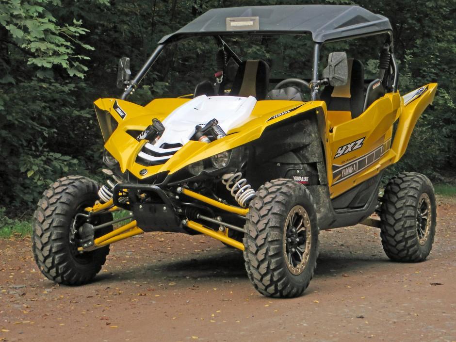 Eher fürs Gasgeben als fürs Bremsen gemacht: Yamaha YXZ1000R/SE