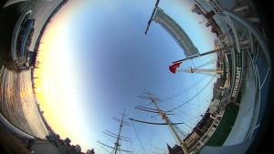 Mit dem Fischauge in die virtuelle Realität