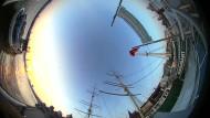 360-Grad-Blick: Der Hamburger Hafen