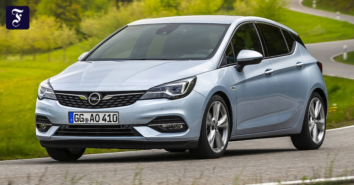 Opel Astra: Unter ferner liefen