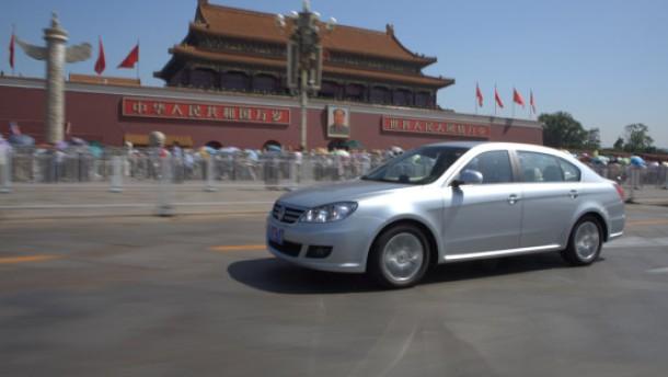 Deutsche Autos aus China für die Welt