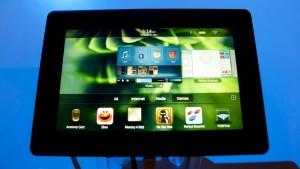 Schlechte Noten für Blackberry-Tablet