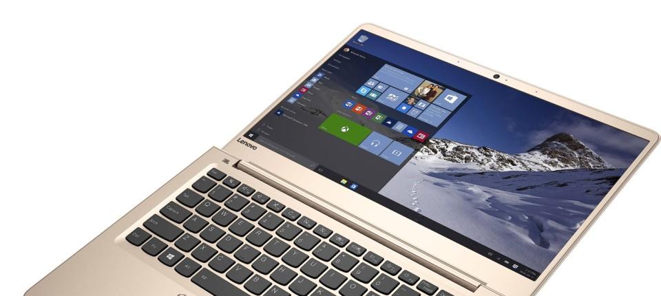 Lenovo Ideapad 710S im Test: Ein Notebook will nach oben