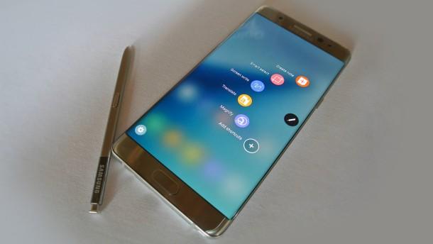 Für den Stift will Samsung nur das Beste