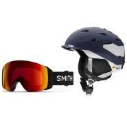 Helm Quantum und Brille von Smith