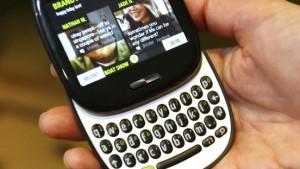 Handys für junge Internet-Nutzer