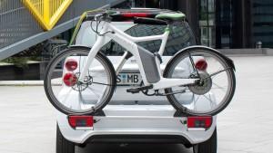 Smart elektrifiziert Auto, Rad und Roller
