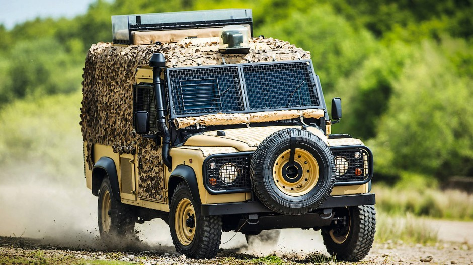 Ziemlich abwegig: Land-Rover-Kultkalender
