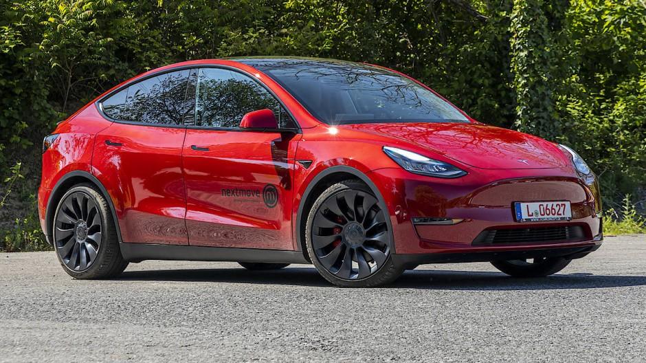 Dann doch aus Shanghai: Tesla Nummer vier, das Model Y