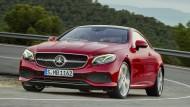 Das neue Coupé der Mercedes E-Klasse