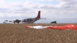 Eine Art Airbag fürs Flugzeug