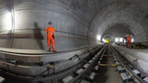 Der längste Eisenbahntunnel der Welt