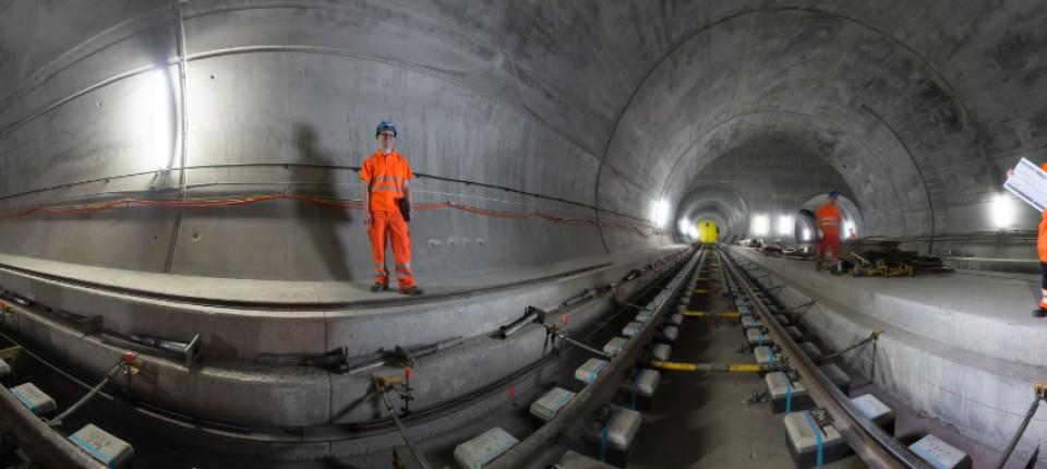 Neue Gotthard Röhre Der Längste Eisenbahntunnel Der Welt