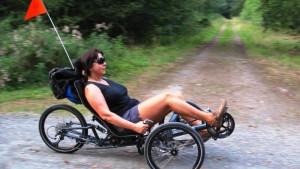 Mountainbike mit drei Rädern