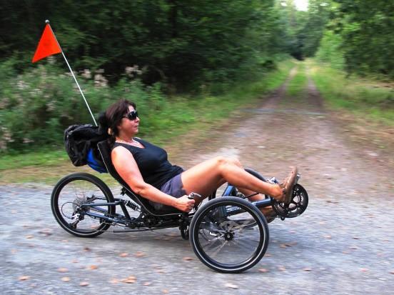 liegerad scorpion fs mountainbike mit drei r dern auto. Black Bedroom Furniture Sets. Home Design Ideas
