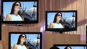 Flache Fernseher weiter Lieblinge der Branche