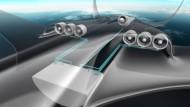 Die Luftfahrtbranche arbeitet an neuen Antriebskonzepten. Eine Idee ist der hybridelektrische Antrieb.