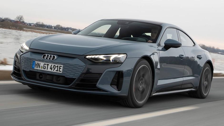 Im Audi E-Tron GT steckt Antriebstechnik der Konzernschwester Porsche.