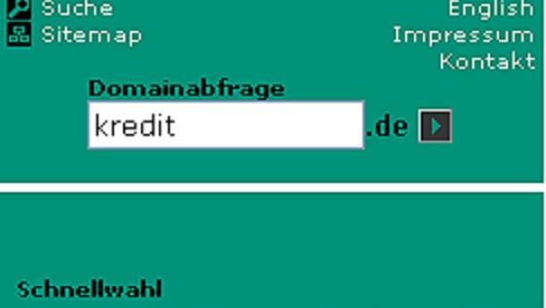 Die teuerste deutsche Internet-Adresse