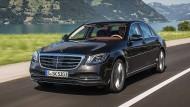 Womöglich ist der neue S 400 d mit langem Radstand und 4Matic-Allradantrieb das beste Oberklasse-Auto überhaupt.