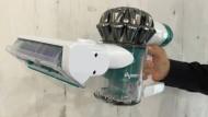 Die Waffe von Dyson gegen die Staubmilben auf der Matratze. Oder richtiger: gegen ihren Kot
