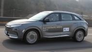Erstes Brennstoffzellenauto von Hyundai: Nexo