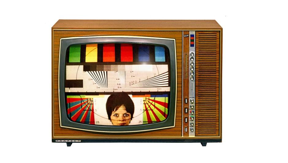 50 Jahre Farbfernsehen: Als die Bildschirme Farbe bekannten