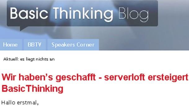47.000 Euro für Blog Basic Thinking