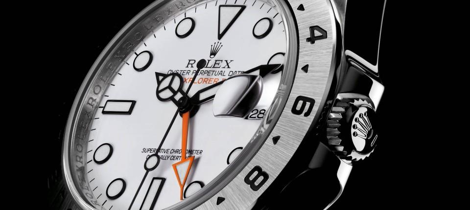Rolex Explorer II: Für Forscher und Forsche Technik